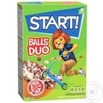 Cухой завтрак Start шоколадные шарики 250г