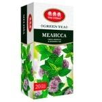 Чай Три Слона зеленый с мелисой в пакетиках 20x1,3г