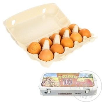 Oua de gaina Golden Egg 10buc - cumpărați, prețuri pentru Metro - foto 1