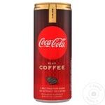 Băutură răcoritoare carbogazoasă Coca Cola Coffee Caramel doză 6x0,25l