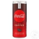 Băutură răcoritoare carbogazoasă Coca Cola Coffee doză 6x0,25l