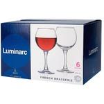 Pahare Luminarc French Brass vin 280ml 6buc