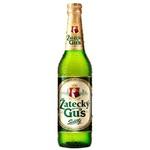 Пиво светлое Zatecky Gus стекло 0,48л
