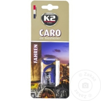K2 ODORIZANT AUTO CARO 4ML - купить, цены на Метро - фото 6