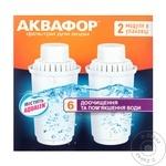 Набор из 2 сменных картриджей Aquaphor B100-6K