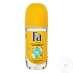 Дезодорант шариковый Fa Bali 50мл