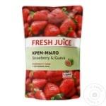 Жидкое мыло Fresh Juice (запаска) Клубника/Гуава 460мл