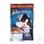 Корм для кошек Felix Индейка 100г