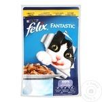 Корм для кошек Felix Курица 100г