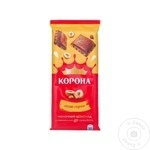 Ciocolata Korona lapte cu alune 85g