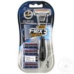 Бритвенный станок Bic Flex 3 easy