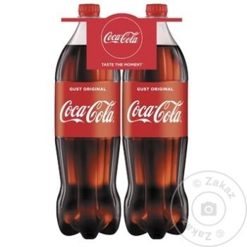 Băutură răcoritoare carbogazoasă Coca Cola PET 2x1,5l - cumpărați, prețuri pentru Metro - foto 1