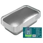 Caserolă aluminiu cu capac METRO Professional 10 bucăți x 0,65l