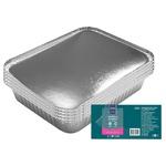Caserolă aluminiu cu capac METRO Professional 10 bucăți x 1,125l