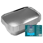 Caserole Aluminiu cu capac METRO Professional 0,7l x 10buc
