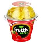 Iaurt Campina Frutis capsuni/zmeura/cereale 180g