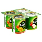 Iaurt Campina Fruttis caise/mango 4x110g