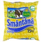 Smantana Lactis 15% 500g