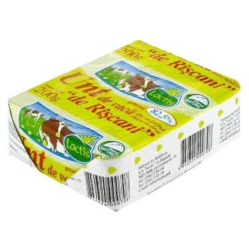 Unt Rascani Lactis din smantana dulce 82,5% 200g - cumpărați, prețuri pentru Metro - foto 1