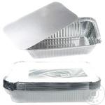 Контейнер алюминиевый с крышкой METRO Professional 10 штук х 1,125л