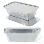 Алюминиевые контейнеры с крышкой METRO Professional 1л х 10шт