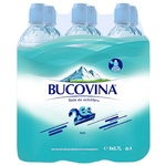 Минеральная негазированная вода Bucovina ПЭТ 6x0,7л