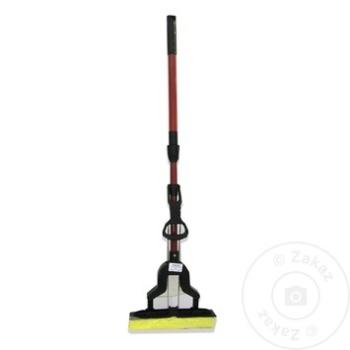 Швабра с телескопической ручкой 110см - купить, цены на Метро - фото 2