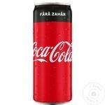 Напиток прохладительный газированный Coca Cola Zero 0.25л x 12шт