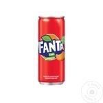 Прохладительный газированный напиток Fanta мандарин 12x0,25л