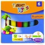 Set plastilină Bic 6 culori