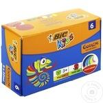 Guașe Bic 6 culori