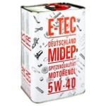 E-TEC ULEI 5W-40 4L