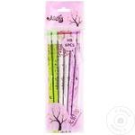 Set creion LX-046 cu radieră 6buc