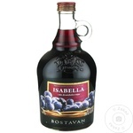Вино Bostavan Isabella красное полусладкое 1л
