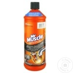 Soluție desfundare țevilor Mr. Muscle 1l