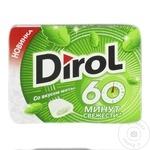 Жевательная резинка Dirol 60 со вкусом мяты 16г