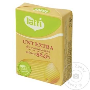 Unt Latti din smantana dulce 82.5% 200g - cumpărați, prețuri pentru Metro - foto 1