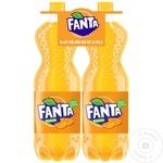 Băutură răcoritoare carbogazoasă Fanta Orange PET 2x1,5l