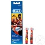 Сменные насадки Oral-B Kids Incredible для электрической зубной щетки 2шт