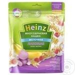 Terci de cereale cu lapte/banana/zmeura Heinz 170g