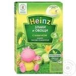 Каша Heinz рисово-пшеничная с кабачком 200г