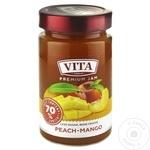 Джем Vita манго/персик Twist Off 380г