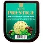 Мороженое Prestige мятное с шоколадными каплями 1,5кг