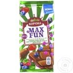 Ciocolată MaxFun Korona Fructe de pădure 160g
