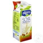 Напиток соевый Alpro несладкий 1л