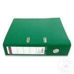 Папка архивная Sigma зеленая PP 75мм