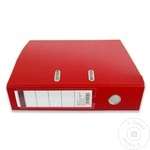 Папка архивная Sigma красная PP 75мм
