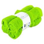 Набор полотенец ARO из 4 предметов 30x30см Lime