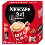 Cafea solubilă NESCAFE® 3 in 1 ORIGINAL 20x13g