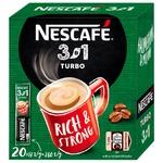 Cafea solubilă NESCAFE® 3 in 1 TURBO 20x13g